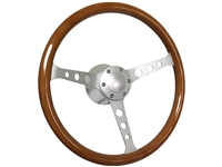 Hot Rod , Wood , Steering Wheel , Brushed Kit , Hot Rod , Street Rod , Rat Rod , Restoration ,