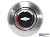 Chevy , Tri Color Bow Tie , Cap , Horn Button , 6 Bolt , GM , Volante , Auto Pro USA , El Camino , Impala , Chevelle , Camaro , Nova , Chevy II , Truck , Bel Air , Tri 5 , Tri Five