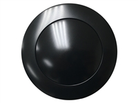 LimeWorks 9 Bolt Covert Black Horn Button