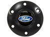 S6 Brushed Horn Button with Ford Blue Oval Emblem