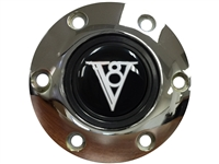 V8 , Art Deco , Horn Button , S6, Chrome , 6 Bolt , LimeWorks , Hot Rod , Volante ,