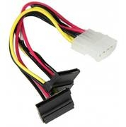 Supermicro CBL-0082L 4pin to 2x SATA Power Extension Cable