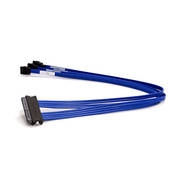 Supermicro CBL-0103L 0.5m SAS (SFF-8484) to 4x SATA Cable