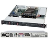 Supermicro 1U SuperChassis CSE-111TQ-600CB 4 Hot-swap 2.5'' SAS/SATA HDD trays Full height Low profile I/O expansion Full Warranty