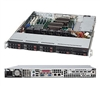 Supermicro 1U SuperChassis CSE-113MTQ-563CB 8 Hot-swap 2.5'' SAS/SATA HDD trays Full height AOC expansion Optimized for DP (low power) and UP motherboards 80 PLUS Gold Full Warranty
