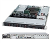 Supermicro 1U SuperChassis CSE-113TQ-600WB 8 Hot-swap 2.5'' SAS/SATA HDD trays WIO Full height Low Profile expansion via Riser Card Digital Switching Full Warranty