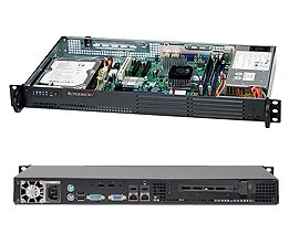 Supermicro 1U SuperChassis CSE-502L-200B 8 Hot-swap 2.5'' SAS/SATA HDD trays UIO Full height Full Length Low Profile expansion 80PLUS Platinum Optimized for DP motherboards Full Warranty