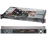 Supermicro 1U SuperChassis CSE-505-203B 8 Hot-swap 2.5'' SAS/SATA HDD trays UIO Full height Full Length Low Profile expansion 80PLUS Platinum Optimized for DP motherboards Full Warranty