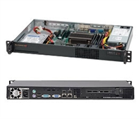 Supermicro 1U SuperChassis CSE-510L-200B 8 Hot-swap 2.5'' SAS/SATA HDD trays UIO Full height Full Length Low Profile expansion 80PLUS Platinum Optimized for DP motherboards Full Warranty