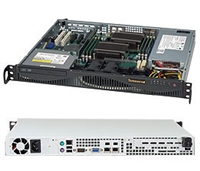 Supermicro 1U SuperChassis CSE-512F-350B 8 Hot-swap 2.5'' SAS/SATA HDD trays UIO Full height Full Length Low Profile expansion 80PLUS Platinum Optimized for DP motherboards Full Warranty
