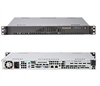 Supermicro CSE-512L-200B 200W Mini 1U Rackmount Server Chassis (Black)