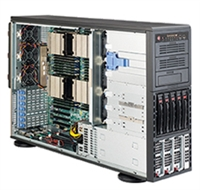 Supermicro 1U SuperChassis CSE-748TQ-R1K43B 8 Hot-swap 2.5'' SAS/SATA HDD trays UIO Full height Full Length Low Profile expansion 80PLUS Platinum Optimized for DP motherboards Full Warranty
