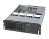"Supermicro 3U SuperChassis CSE-833T-653B Hot-swap 3.5'' SATA drive bays 2x5.25"" peripheral Drive Bays optional 3.5'' drive bay 6 Full Height Full Length expansion 80 Plus Gold Power Supply Full Warranty"