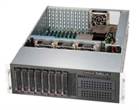 "Supermicro 3U SuperChassis CSE-835XTQ-R982B 8 Hot-swap 3.5'' SAS/SATA drive bays 2x5.25"" Drive Bays 11 expansion Redundant 80 PLUS Platinum Power Supply Full SES2 Support is only available on SAS motherboard Full Warranty"
