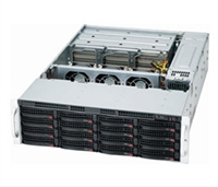 Supermicro 3U SuperChassis CSE-837E16-RJBOD1 supports 28 Hot-swap 3.5'' HDD bays SAS2 expander Cascade up to 240 SAS HDDs Redundant 80 PLUS Platinum Power Supply Full Warranty