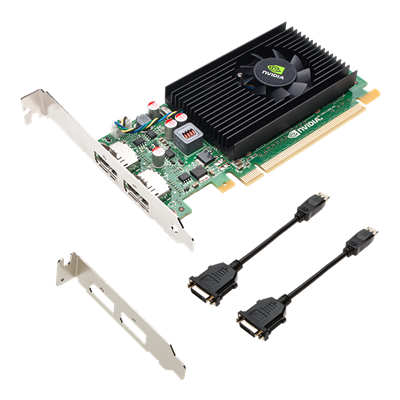 NVIDIA PNY NVS 310 1GB GPU DDR3 PCIe 2.0 - Low Profile, Display Port