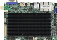 "Supermicro A2SAN-H Motherboard, 3.5"" SBC, Intel Atom processor E3940 (9.5W, 4C), Low Power, Embedded, Intel Goldmont microarchitecture 14nm, System-on-Chip, Up to 8GB 1866MHz DDR3L Non-ECC SO-DIMM in 1 socket, Dual GbE LAN with Intel i210-AT"