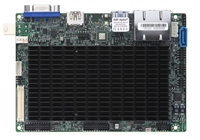 "Supermicro A2SAN-L Motherboard, 3.5"" SBC, Intel Atom processor E3930 (6.5W, 2C), Low Power, Embedded, Intel Goldmont microarchitecture 14nm, System-on-Chip, Up to 8GB 1866MHz DDR3L Non-ECC SO-DIMM in 1 socket, Dual LAN with Intel Ethernet Controller"