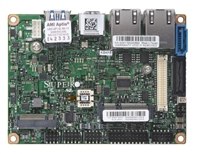 "Supermicro A2SAP-E Motherboard, 3.5"" SBC, Intel Atom processor E3940 (9.5W, 4C), Low Power, Embedded, Intel Goldmont microarchitecture 14nm, System-on-Chip, Up to 8GB 1866MHz DDR3L Non-ECC SO-DIMM in 1 socket, Dual LAN with Intel Ethernet Controller"