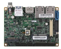 "Supermicro A2SAP-H Motherboard, 3.5"" SBC, Intel Atom processor E3940 (9.5W, 4C), Low Power, Embedded, Intel Goldmont microarchitecture 14nm, System-on-Chip, Extension I/O (1 DP/HDMI, 2 PCIe x1, 2 USB2.0, LPC, SATA, SMBus, Power), Dual LAN"