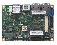 "Supermicro A2SAP-L Motherboard, 3.5"" SBC, Intel Atom processor E3930 (6.5W, 2C), Low Power, Embedded, Intel Goldmont microarchitecture 14nm, System-on-Chip, Up to 8GB 1866MHz DDR3L Non-ECC SO-DIMM in 1 socket, Dual LAN with Intel Ethernet Controller"