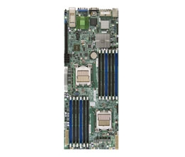 Supermicro MBD-H8DCT-IBQF Dual 1207-pin Socket C32 GbE LAN Port ATI Graphics SATA controller RAID 0,1,10 Mellanox ConnectX IB QSFP IPMI 2.0 Full Warranty
