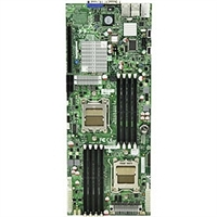 Supermicro MBD-H8DMT-F Dual 1207-pin Socket F Dual Port GbE Zoar LAN Integrated Graphics IPMI 2.0 Dedicated Lan SATA2 connection RAID 0,1,0+1,5, JBOD nVidia MCP55 Chipset Full Warranty