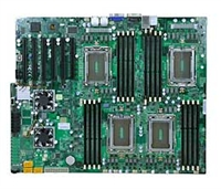 Supermicro A+ H8QGL-iF Motherboard 4-Way Opteron 6000 Socket G34 16-Core DDR3 SATA2 RAID IPMI GbE PCIe SWTX MBD-H8QGL-iF