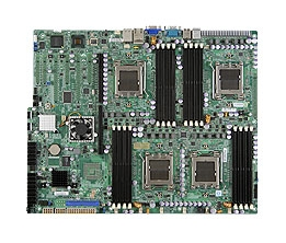 Supermicro MBD-H8QI6+-F Quad 1207-pin Socket F Dual Port GbE LAN Integrated Matrox G200eW Graphics IPMI 2.0 Dedicated Lan 6x SATA2 ports via AMD SP5100 controller LSI 2008 SAS2 Controller Full Warranty