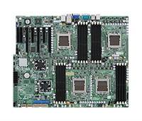 Supermicro MBD-H8QIi-F Quad 1207-pin Socket F Dual Port GbE LAN Integrated Matrox G200eW Graphics IPMI 2.0 AMD SP5100 Controller Full Warranty