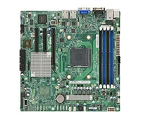Supermicro A+ H8SML-i AMD motherboard Socket AM3+ 6xSATA2 ports via AMD SP5100 controller RAID 0,1,10 Integrated Graphics 2 single GbE ports Full Warranty