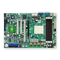 Supermicro MBD-H8SSL-i2 Single 940-pin AM2 Socket 4 SATA Ports Dual ethernet LAN Ports ATI graphics 1UIPMI 2.0 Full Warranty