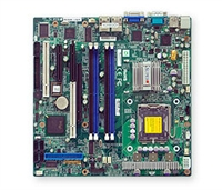 Supermicro MBD-PDSML-E+ PD Dual-core LGA775 server board 4*LAN ATX MBD-PDSML-E+ Full Warranty