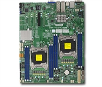 Supermicro X10DRD-LTP Motherboard E-ATX LGA 2011 Intel Xeon Dual Socket R3 supports Intel Xeon processor E5-2600 v4/v3 family; QPI up to 9.6GT/s, Intel C612 chipset