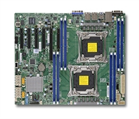 Supermicro MBD-X10DRL-i Motherboard 8x 288-pin Dual socket GbE LAN ports SATA3 controller Full Warranty