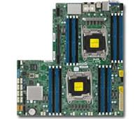 Supermicro X10DRW-E Motherboard Proprietary WIO LGA 2011 Intel Xeon Dual Socket R3 supports Intel Xeon processor E5-2600 v4/v3 family; QPI up to 9.6GT/s, Intel C612 chipset