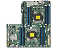 Supermicro X10DRW-N Motherboard Proprietary WIO LGA 2011 Intel Xeon Dual Socket R3 supports Intel Xeon processor E5-2600 v4/v3 family; QPI up to 9.6GT/s, Intel C612 chipset