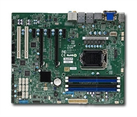 Supermicro MBD-X10SAE LGA1150 Socket H3 Supports 4th Generation Core dual GbE LAN Port 8 SATA3 support HD audio DOM power connector SPDIF Out Header UEFI BIOS Full Warranty
