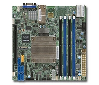 Supermicro X10SDV-4C-TLN2F Motherboard Mini-ITX, System on Chip, Broadwell-DE, Xeon D 4-Core, Intel Xeon processor D-1521, Single socket FCBGA 1667; 4-Core, 8 Threads, 45W, System on Chip