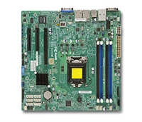Supermicro MBD-X10SLM+-F 2x 240-pin SO-DIMM socket GbE LAN ports SATA controller Full Warranty