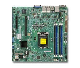 Supermicro MBD-X10SLM+-LN4F LGA1150 Socket H3 Supports 4th Generation SATA Core Quad GbE LAN Port HD audio DOM power connector IPMI 2.0 TPM header VGA D-sub support Intel Node Manager Full Warranty