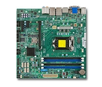 Supermicro MBD-X10SLQ LGA1150 Socket H3 Supports 4th Generation 6 SATA Core dual GbE LAN Port HD audio DOM power connector SPDIF Out Header AMT 9.0, vPro UEFI BIOS support Full Warranty