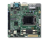Supermicro MBD-X10SLV 2x 204-pin SO-DIMM socket GbE LAN ports SATA3 controller Full Warranty