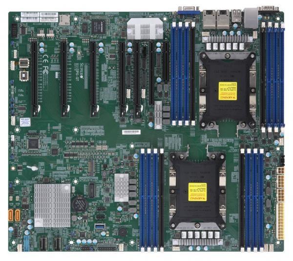 Supermicro MBD-X11DPG-QT Motherboard/ Intel Xeon Scalable/ Intel C621/ Dual  LGA 3647/ 2TB RDIMM/ 2TB LRDIMM/ PCI-E3 0
