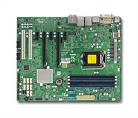 Supermicro MBD-X11SAE Motherboard LGA1151 Socket H4 Supports 6th Generation Core Single GbE LAN Port 8x SATA3 Full Warranty