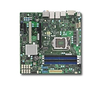 Supermicro MBD-X11SAE-M Motherboard LGA 1151 UP Xeon Socket H4 Supports Single GbE LAN with Intel® i210-AT and Intel® i219LM 8x SATA3 via C236 Full Warranty