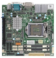 Supermicro X11SCV-Q Motherboard Mini-ITX High Performance, vPro AMT, 2666MHz DDR4, 8th Generation Intel Core i7/i5/i3/Pentium/Celeron Processor, Single Socket H4 (LGA 1151) supported, CPU TDP support Up to 65W TDP