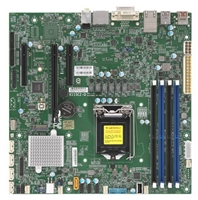 Supermicro X11SCZ-Q Motherboard uATX, Single Socket H4 (LGA 1151), Intel Q370, vPro, AMT, High Performance, 2666MHz DDR4 8th Generation Intel Core i7/i5/i3/Pentium/Celeron Processor, CPU TDP support, Up to 95W TDP, Intel Q370, Up to 64GB Unbuffered