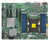 Supermicro X11SPH-nCTPF Motherboard Mini-ITX High Performance Intel Xeon Scalable Processors, Single Socket P (LGA 3647) supported, CPU TDP support 205W