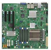 Supermicro X11SSH-GF-1585L Motherboard Micro-ATX Intel Xeon processor E3-1585L v5, Single socket FCBGA 1440, 4-Core, 8 Threads, 45W Intel C236 chipset, Up to 64GB ECC Unbuffered SO-DIMM, DDR4 2133MHz; 4 DIMM slots, Support Intel Iris Pro Graphics P580